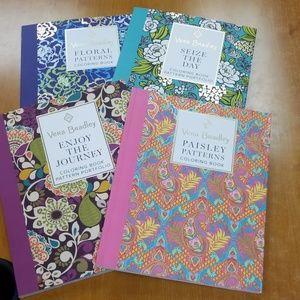 4 pack Vera Bradley color pattern portfolio